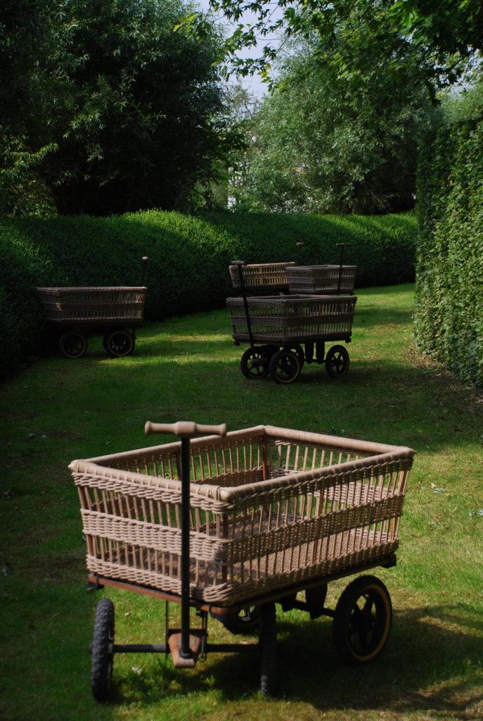 Тележка садовая на 4-х колесах