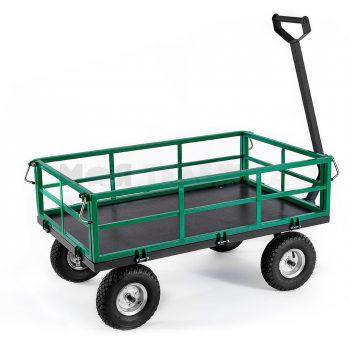 Тележка садовая 4 колеса четырехколесная